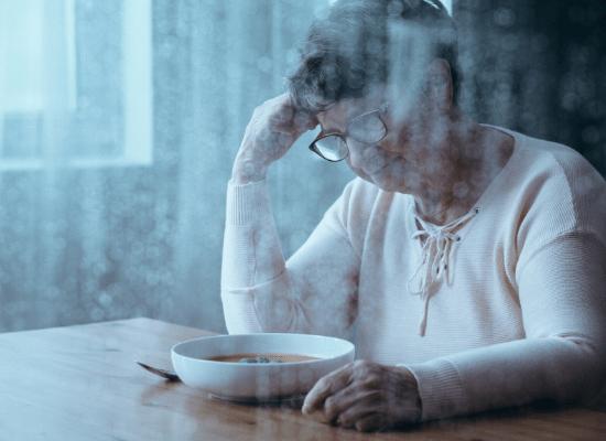 דיכאון של בוקר, ארוחה עצובה, בדידות