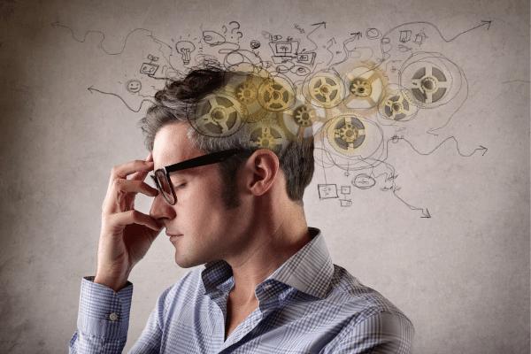 מוח רץ (כמושג), הפרעות נפשיות ומחשבתיות, לחצים