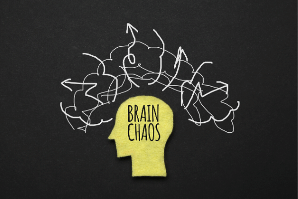 הגורמים לחרדה, מוח אדם